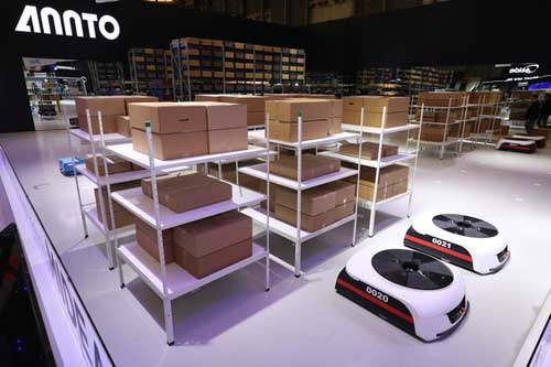 四大机器人打造智能化仓储