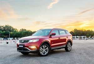 吉利博越保值率位居中国品牌紧凑级SUV第一