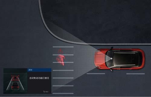 AEB主动式紧急刹车系统