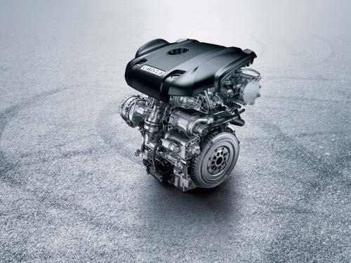 图为领克01纯Drive-E 2.0TD 涡轮增压发动机