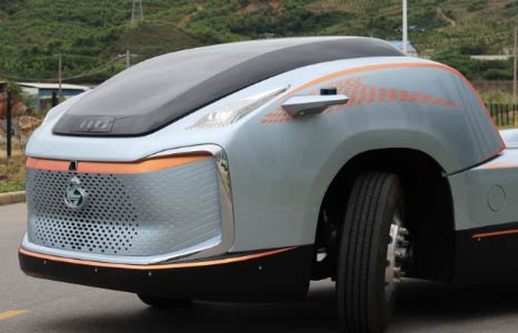 预见未来 超前设计 乘龙概念卡车首次曝光