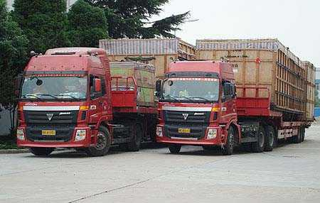 公路货运的吨位公里与运费