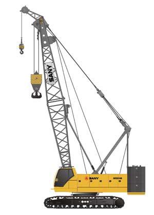 履带起重机 常规吊装系列:SCC10000