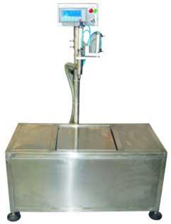 电子称重式中包装油类灌装机