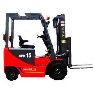电动平衡重式叉车,型号CPD151.5吨