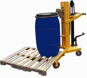 DTF型液压油桶搬运车