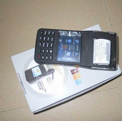 PDA打印一体机,手持移动PDA打票机