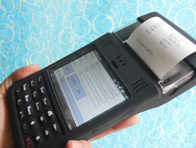 WINCE/mobile/android带打印功能手持PDA设备 智能移动POS