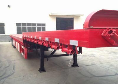 供应SNTO 13m平板半挂车 仓储 牵引车