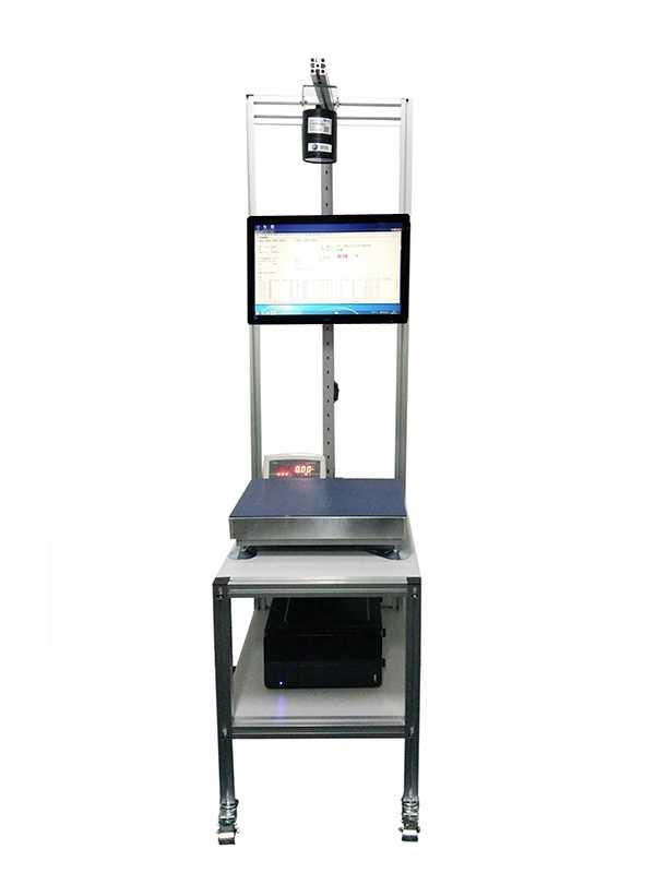 CW60静态读码称重系统包裹条码扫描重量测量一体机工作台信息快件信息识别设备