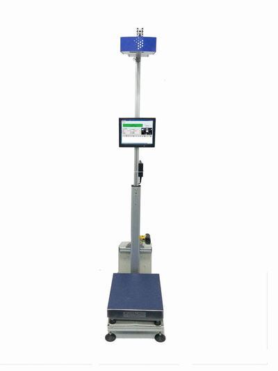 9F-DWS150静态扫码体积测量系统包裹条码扫描体积测量一体机