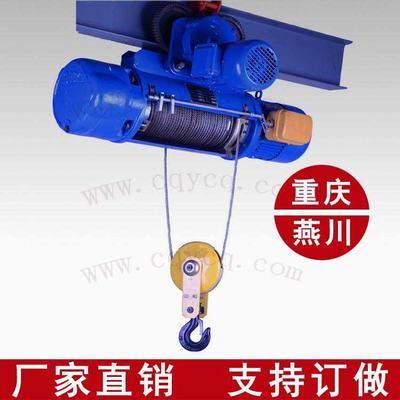 重庆钢丝绳电动葫芦1T厂家定做