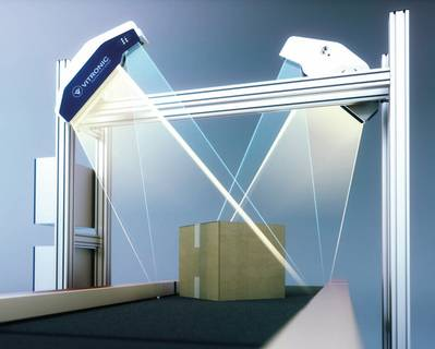 VIPAC D2 体积测量系统