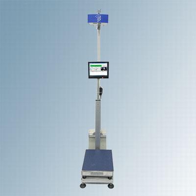 静态扫码称重体积测量系统包裹条码扫描体积测量一体机
