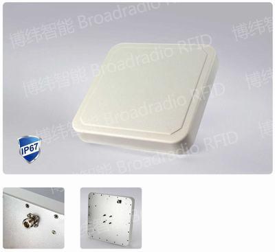 UHF 9dBic 通用型远场外置RFID天线 多场景适用 圆极化 IP67 BRA-01CR