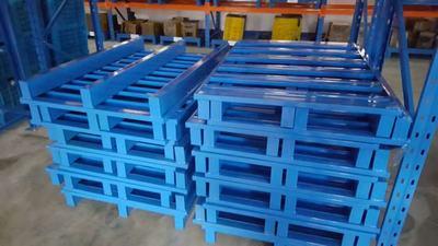 供应天津可折叠金属周转箱厂家 可回收铁质箱子