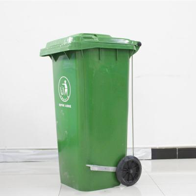 带轮耐用塑料垃圾桶 重庆小区垃圾桶/挂车垃圾桶出厂价