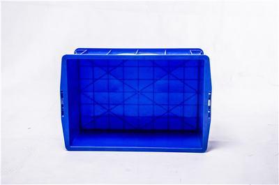 重庆哪里有塑料周转箱卖,厂家供应485-220可堆式周转箱