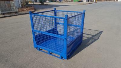 直销仓储笼铁框 铸件料箱 轴承箱 工件铁箱 金属周转箱 金属网箱