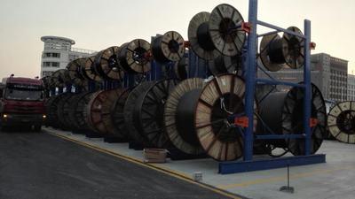 线缆 线缆盘货架 电缆 电缆盘货架 电厂货架 电力公司货架 供电公司货架