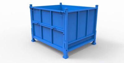 料箱 钢制料箱 金属料箱  铁箱