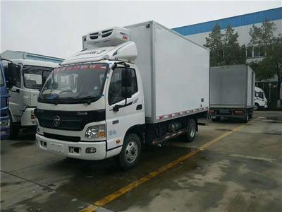 福田欧马可4.1米冷藏车,小型厢式冷藏车低价出售!!