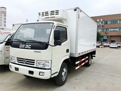 东风多利卡国五4.1米冷藏车,厢式冷藏车活动价出售!10.8万现车出售!!