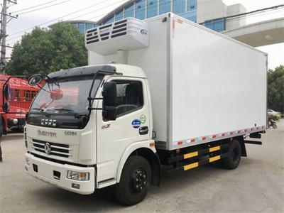 东风多利卡国五5.1米冷藏车,黄牌现车低价出售!!