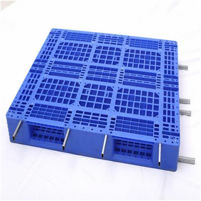 重庆厂家大量供应塑料1210田字托盘可加钢管,卡板/栈板/地台板