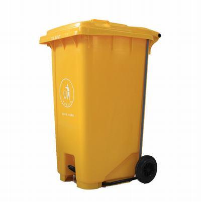 重庆渝中区塑料垃圾桶厂家 大容量环卫垃圾桶规格/图片