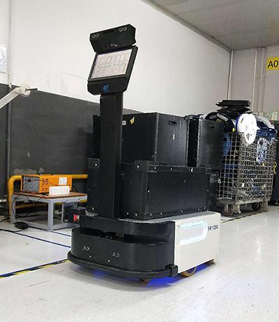 视觉导航AGV