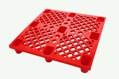 洛阳1111塑料九脚托盘 塑胶卡板 栈板 防潮板价格