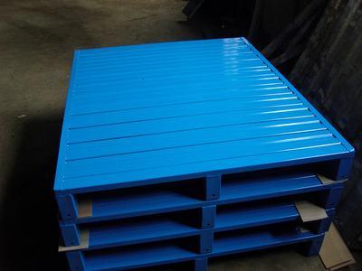 重型加厚钢制托盘物流垫板叉车托盘垫仓板货物铁托盘铁栈板防潮板