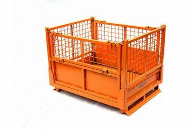 铁皮金属周转箱 仓储笼 铁皮盒 物流箱 物料箱 铁筐箱周转筐