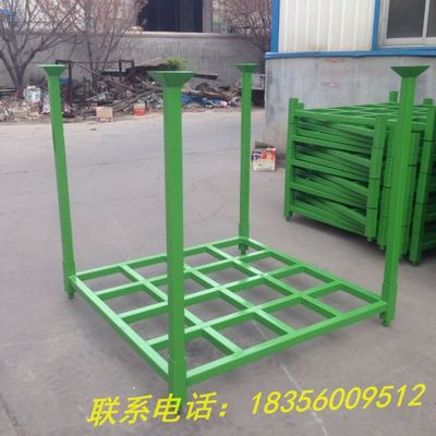 直销巧固架钢制堆叠可拆折叠金属仓储物流汽车零部件架布料堆垛架