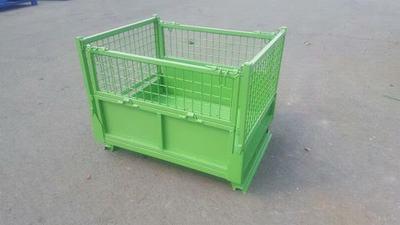 定制租赁折叠式仓储笼金属蝴蝶笼大铁框物流台车周转箱