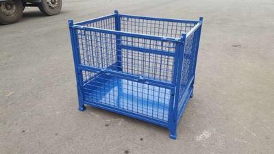定制租赁可折叠仓储笼铁框蝴蝶笼周转箱笼铁笼储物笼