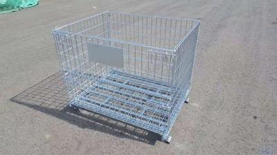 定制租赁折叠仓储笼铁框蝴蝶笼物流台车周转箱笼铁笼