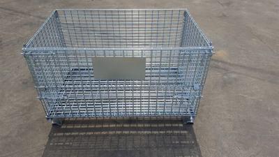定制租赁折叠式仓储笼铁框铁筐快递货框物流笼仓库笼