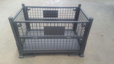 钢丝仓储笼周转框储物料箱蝴蝶笼折叠式定制租赁