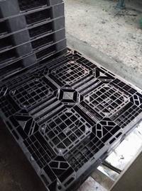 黑色出口用田字网格塑料托盘1210/1111