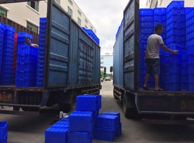 广州市乔丰塑胶桶,广州全新料塑料周转箱