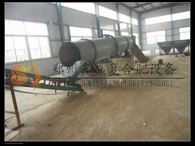 生产经验 不断完善 郑州鑫盛 肥料滚筒搅拌机