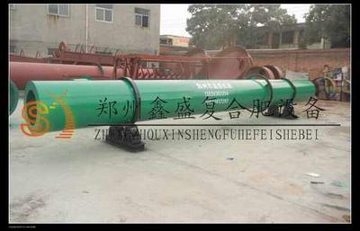 郑州鑫盛 回转式烘干机 生产线经典布局