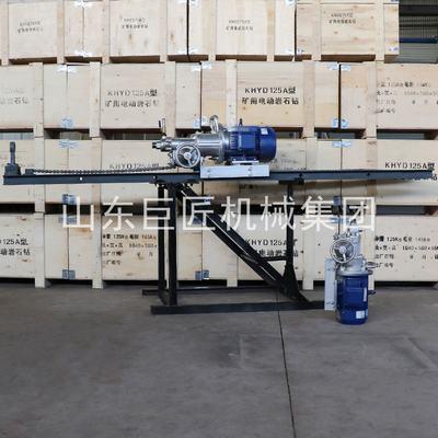 直销KHYD75岩石电钻 坑道内探水钻机安全可靠