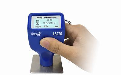 便携式测厚仪用于检测防水涂层厚度