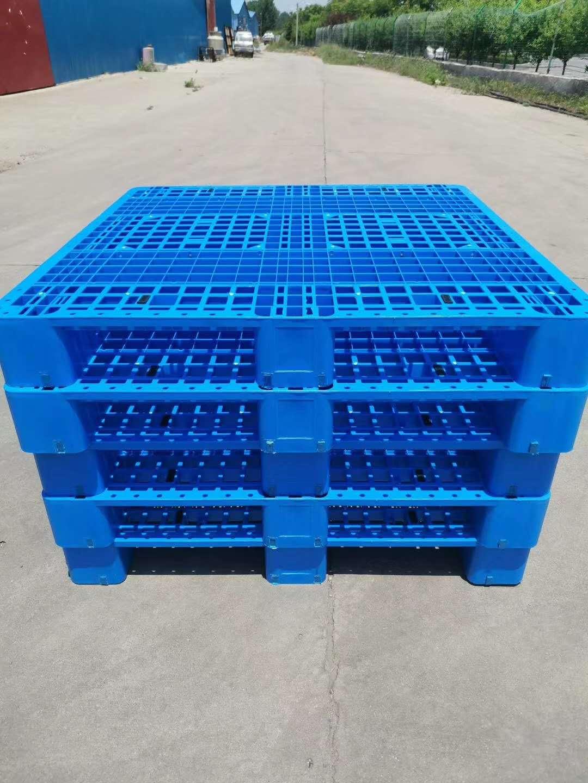 1210川字货架用塑料托盘批发,河南河北塑料托盘价格
